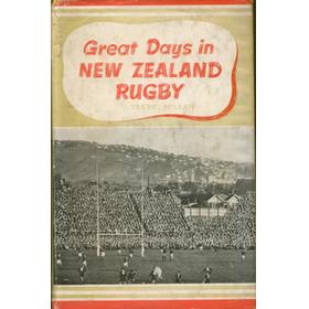 GREAT DAYS IN NEW ZEALAND RUGBY