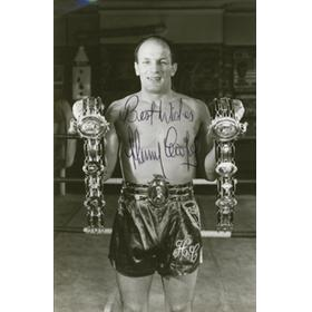 HENRY COOPER SIGNED PHOTOGRAPH