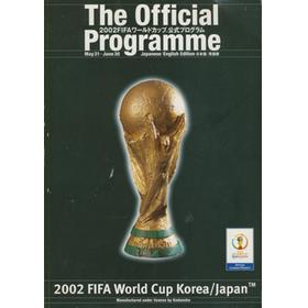 WORLD CUP 2002 OFFICIAL PROGRAMME