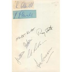 WORCESTERSHIRE COUNTY CRICKET CLUB YEAR BOOK 1965 (SIGNED BY 8 PLAYERS)