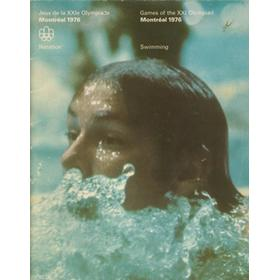 MONTREAL OLYMPICS 1976 - SWIMMING BROCHURE