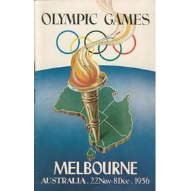 MELBOURNE OLYMPICS 1956 - VISITOR