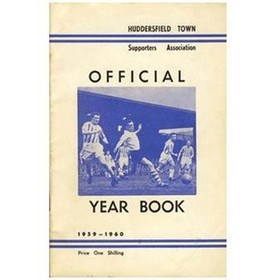 HUDDERSFIELD TOWN FOOTBALL CLUB HANDBOOK 1959-60