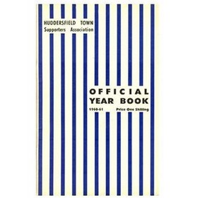 HUDDERSFIELD TOWN FOOTBALL CLUB HANDBOOK 1960-61