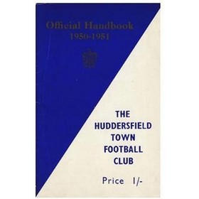 HUDDERSFIELD TOWN FOOTBALL CLUB HANDBOOK 1950-1951