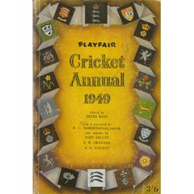 PLAYFAIR CRICKET ANNUAL 1949