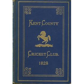 KENT COUNTY CRICKET CLUB 1928 [BLUE BOOK]