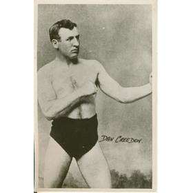 DAN CREEDON (NEW ZEALAND) BOXING POSTCARD