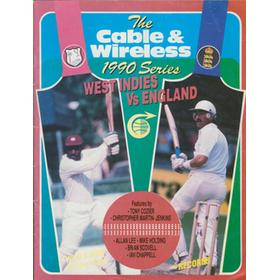 ENGLAND TOUR TO WEST INDIES 1990