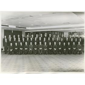 RFU COMMITTEE 1969-70 RUGBY PHOTOGRAPH
