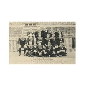 NEW ZEALAND 1905 RUGBY POSTCARD