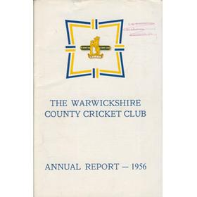 WARWICKSHIRE COUNTY CRICKET CLUB ANNUAL REPORT 1956