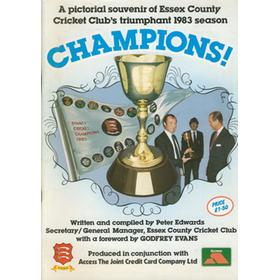 CHAMPIONS! A PICTORIAL SOUVENIR OF ESSEX COUNTY CRICKET CLUB