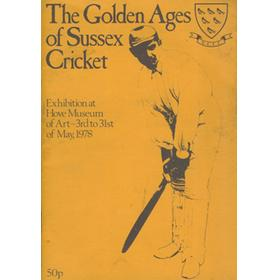 THE GOLDEN AGES OF SUSSEX CRICKET
