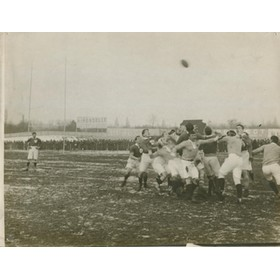 FRANCE V IRELAND ORIGINAL PRESS PHOTOGRAPH CIRCA 1910