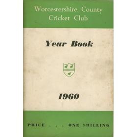 WORCESTERSHIRE COUNTY CRICKET CLUB YEAR BOOK 1960 (MULTI-SIGNED)