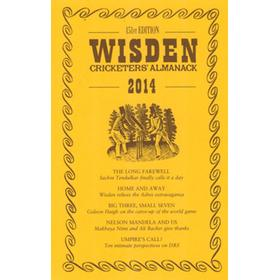 WISDEN TRADITIONAL-STYLE DUST JACKET 2014