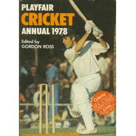 PLAYFAIR CRICKET ANNUAL 1978