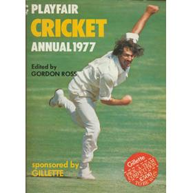 PLAYFAIR CRICKET ANNUAL 1977