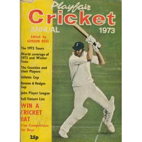 PLAYFAIR CRICKET ANNUAL 1973