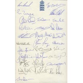 THE CONCISE WISDEN - AN ILLUSTRATED ANTHOLOGY (EXTENSIVELY SIGNED)