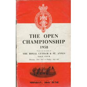 OPEN CHAMPIONSHIP 1958 (ROYAL LYTHAM & ST. ANNES)