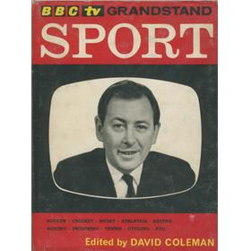 BBC TV GRANDSTAND SPORT (SIGNED BY GLOUCESTERSHIRE CCC)