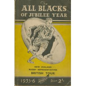THE ALL BLACKS OF JUBILEE YEAR 1935-6