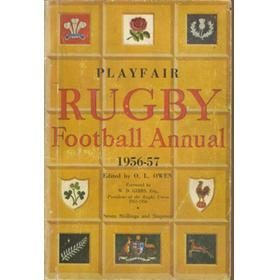 PLAYFAIR RUGBY FOOTBALL ANNUAL 1956-57