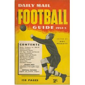 DAILY MAIL FOOTBALL GUIDE 1954-5