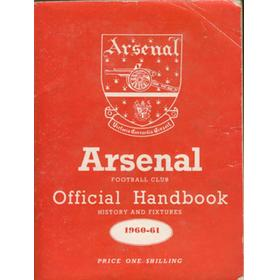 ARSENAL FOOTBALL CLUB 1960-61 OFFICIAL HANDBOOK