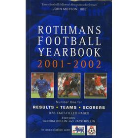 ROTHMANS FOOTBALL YEARBOOK 2001-2002