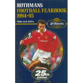 ROTHMANS FOOTBALL YEARBOOK 1994-95