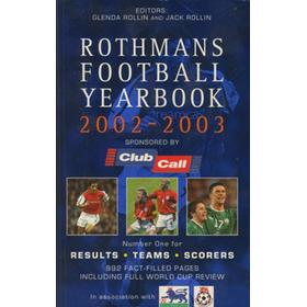 ROTHMANS FOOTBALL YEARBOOK 2002-2003
