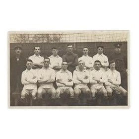 BURY FOOTBALL CLUB 1916-17 FOOTBALL POSTCARD