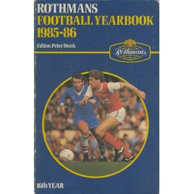 ROTHMANS FOOTBALL YEARBOOK 1985-86