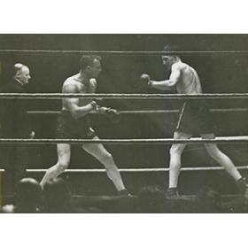 JACK PETERSON V REGGIE MEEN 1934 BOXING PHOTO