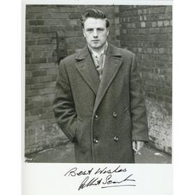 ALBERT SCANLON (MANCHESTER UNITED) SIGNED PHOTOGRAPH