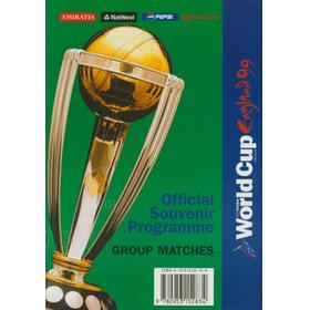 CRICKET WORLD CUP 1999 GROUP MATCHES