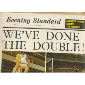 ARSENAL DOUBLE SEASON 1971. LONDON EVENING STANDARD CELEBRATION ISSUE