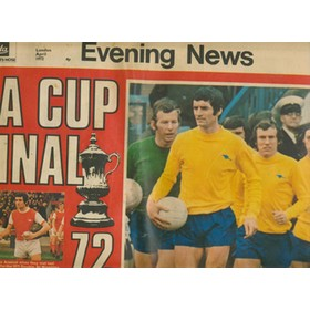FA CUP FINAL 1972. LONDON EVENING NEWS COLOUR PREVIEW