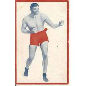 BILL LANG (AUSTRALIA) BOXING PROMOTIONAL CARD