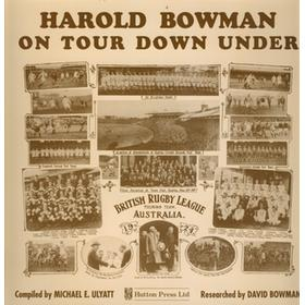 HAROLD BOWMAN ON TOUR DOWN UNDER