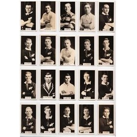 NEW ZEALAND FOOTBALLERS 1928 - WILLS CIGARETTE CARDS