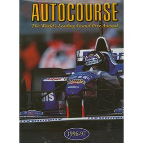AUTOCOURSE 1996-97 (SIGNED DEDICATION COPY FROM JACKIE STEWART)