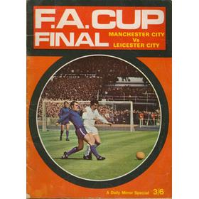 MANCHESTER CITY V LEICESTER CITY 1969. F.A. CUP FINAL BROCHURE
