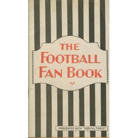 THE FOOTBALL FAN BOOK (1930)