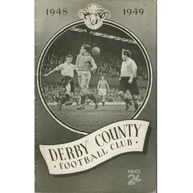 DERBY COUNTY FOOTBALL CLUB 1948-1949
