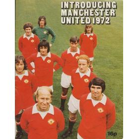 INTRODUCING MANCHESTER UNITED 1972