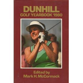 DUNHILL GOLF YEARBOOK 1980